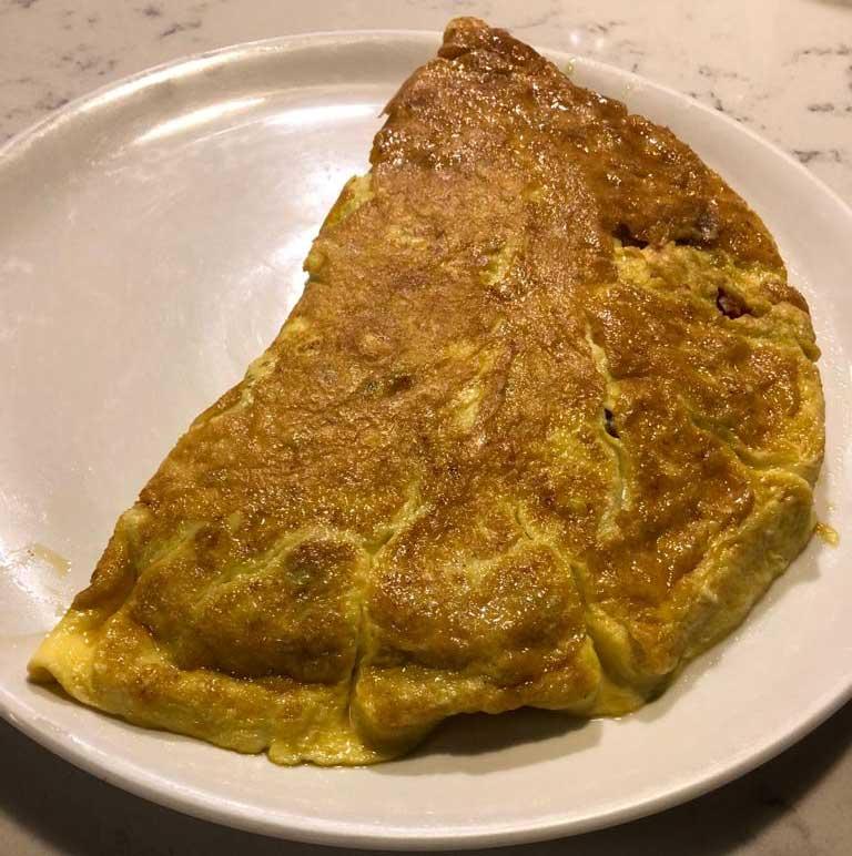 tortilla de pimientos 8
