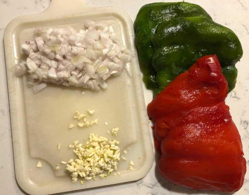 tortilla de pimientos 3
