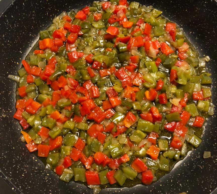 tortilla de pimientos 4