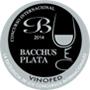 Médaille d'argent Bacchus 2014
