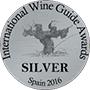 Medaille d'argent au concours internatioal des vins 2016