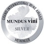 Médaille d'argent Mundus Vini à Berlin 2017