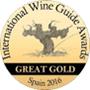 Médaille Grand Or au concours international du vin 2016