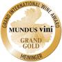 Médaille Grand Or Mundus Vini Meininger