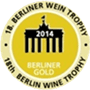 Médaille d'or au 18è Berliner wine trophy 2014